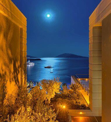 Caresse Resort Bodrum Sea View from the corridors